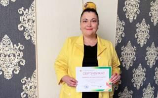 Зазерская прошла обучение по программе подготовки медиаторов